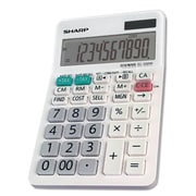 Sharp El-330wb Desktop Calculator, 10-Digit Lcd