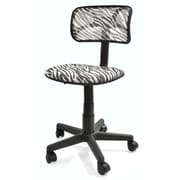 Symple Stuff Mid-Back Mesh Desk Chair; Zebra