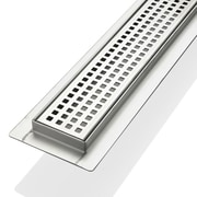 Kube Bath 27.5'' Grid Shower Drain