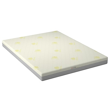 CorLiving – Matelas grand lit en mousse mémoire 6 po SGH-414-Q de la collection Sleep