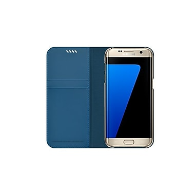 Slim Diary Galaxy S7 Edge Case, Blue