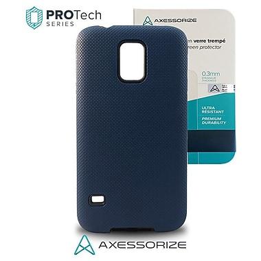 ProTech – Samsung Galaxy S5, bleu + verre trempé, qualité militaire