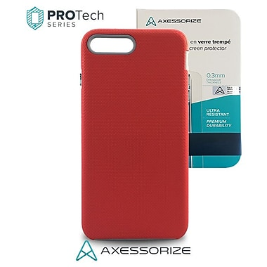 Protech IP7 Plus, Pink Salmon + Tempered Glass, Military Grade