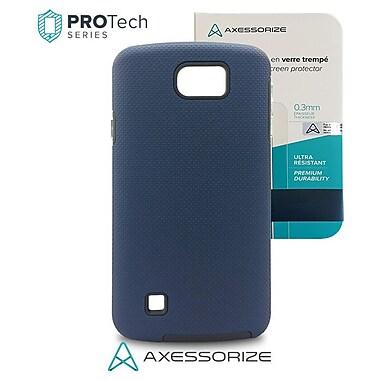 ProTech – LG K4, bleu + verre trempé, qualité militaire
