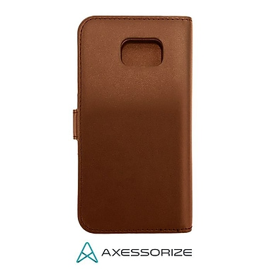 Axessorize Folio Galaxy S6 Case, Brown