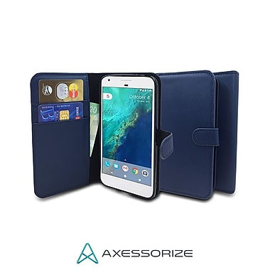 Axessorize Folio iPhone 8/7 Case, Blue (FOLIP7B)