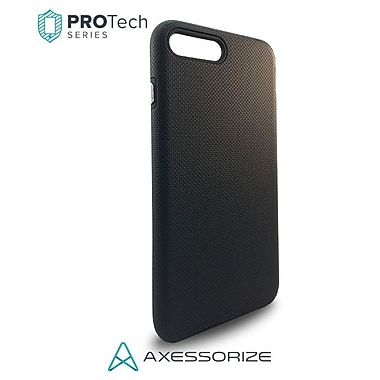 Axessorize PROTech iPhone 8/7 Case, Black (IP7R1000)