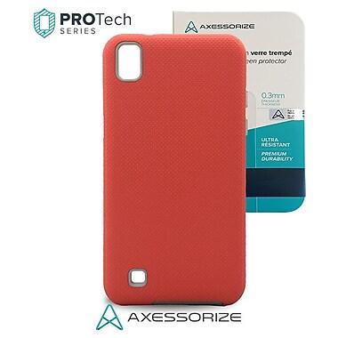 ProTech – LG X Power, rose + en verre trempé, qualité militaire