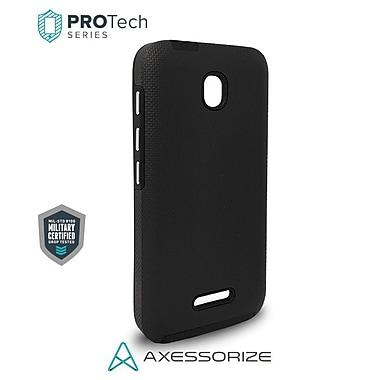 Axessorize Protech Alcatel Pixi 4 Case, Black, Military Grade