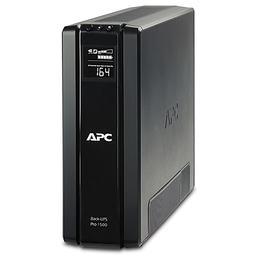 APC® Back-UPS™ Pro Battery Backup, 1500VA, 10 Outlet (BR1500G)