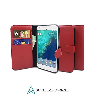 Axessorize Folio iPhone 8/7 Case, Red (FOLIP7RG)