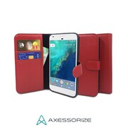 Axessorize Folio Galaxy S7 Case, Red
