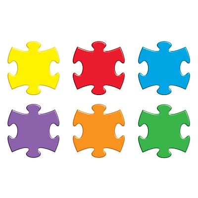 Trend® Classic Accents® Variety Packs, Puzzle Pieces