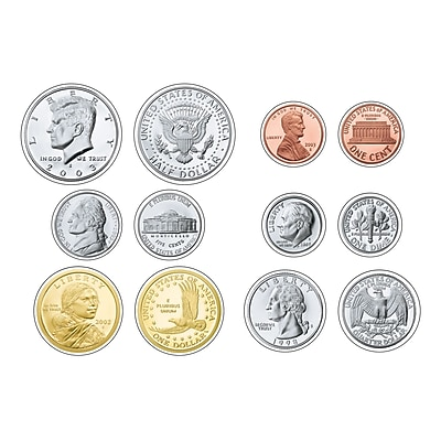 Trend Classic Accents Variety Packs, Replica U.S. Coins