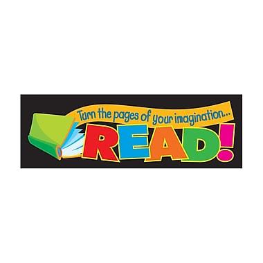 Trend Enterprises® Turn The Pages of Your Imagination Bookmark, Grades Kindergarten - 6th