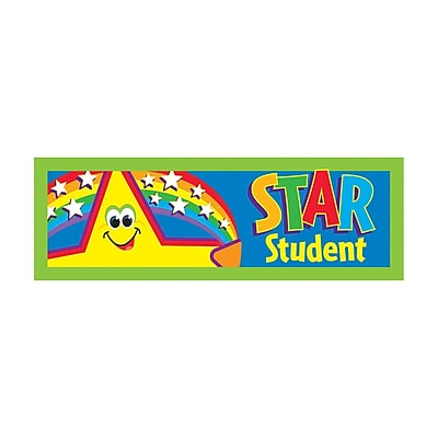 Trend® Bookmarks, Star Student