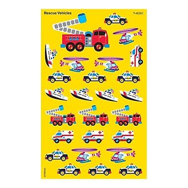 Trend Enterprises® SuperShapes Stickers, Rescue Vehicles