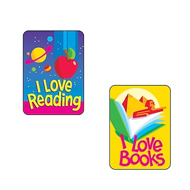 Trend Enterprises® Applause Stickers, Reading Fun