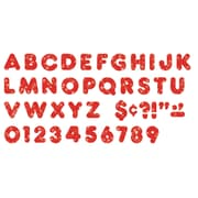 "Trend® 2"" Ready Letters®, Casual Sparkles, Red"
