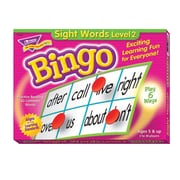 Trend Enterprises® Sight Words Level 2 Bingo Game, Grades Kindergarten-4th