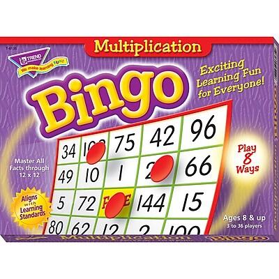 Trend Enterprises® Bingo Game, Multiplication