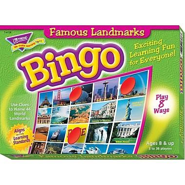 Trend Enterprises Famous Landmarks Bingo Game (T-6138)