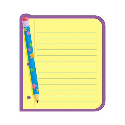 Trend Enterprises® Note Pad, Note Paper, 8/Pack