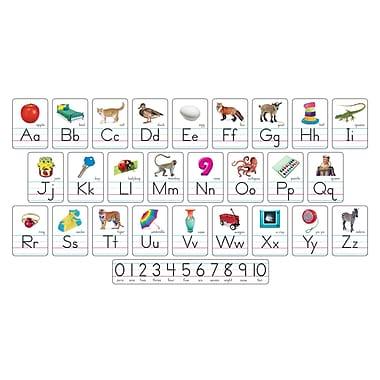 Trend Enterprises® Photo Alphabet (Zaner-Bloser Manuscript) Bulletin Board Set (T-721)
