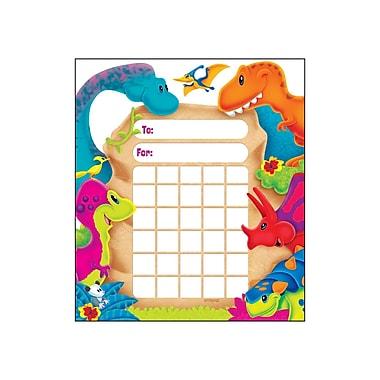 Trend Enterprises® Dino-Mite Pals™ Mini Incentive Chart Pad, Dinosaurs, 8/Pack