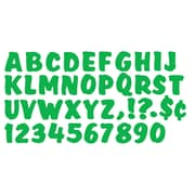 "Trend Enterprises® Ready Splash Uppercase Letter, 4"", Green"