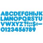 """Trend Enterprises® 3D Casual Ready Letter, 4"""", Blue"""