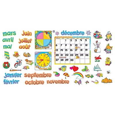 Trend Bulletin Board Sets, French Calendrier Mensuel