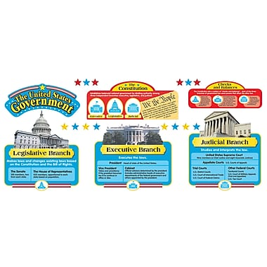 Trend Enterprises Bulletin Board Set, United States Government (T-8068)