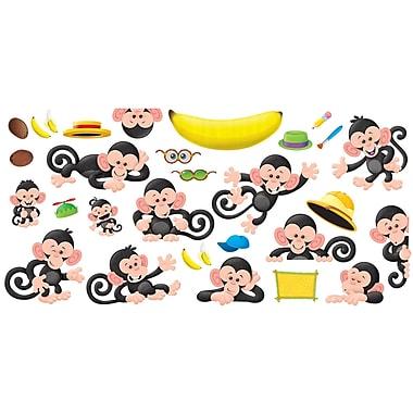 Carson-Dellosa Bulletin Board Sets, Monkey Mischief