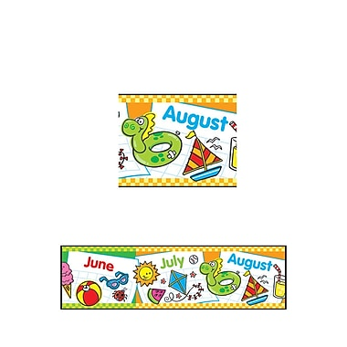 Trend Enterprises® Bolder Border, Months of the Year, 11/Pack (T-85035)