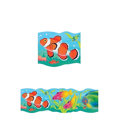 Trend Enterprises® Pre-kindergarten - 5th Grades Bolder Border, Tropical Fish