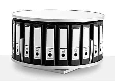 Moll® Deluxe Desktop Binder & File Carousel Shelving (DCL-80)