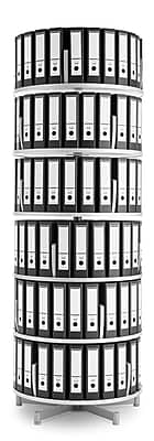 Moll® Deluxe Binder & File Carousel Shelving, Six Tier (CL6-80)