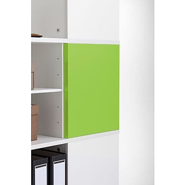 Moll® Magnetic Boards for Cube Binder & File Carousel Shelving, Green (CUBEMB-GR)