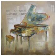 "Yosemite ""Paris Piano"" Canvas Art"