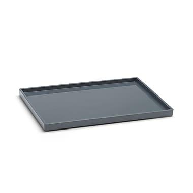 Poppin, Dark Gray, Medium Slim Tray (102713)