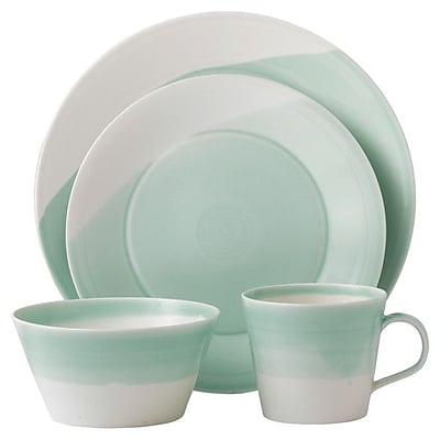 Royal Doulton 1815 16 Piece Dinnerware Set WYF078279812587