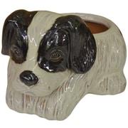 Craftware Dog Ceramic Statue Planter