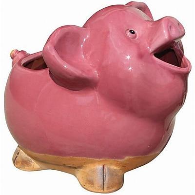 Craftware Pig Ceramic Statue Planter