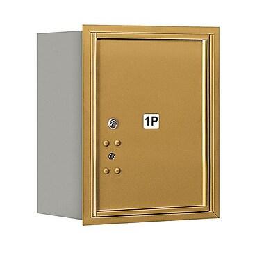 Salsbury Industries Aluminum 1 Unit Parcel Locker; Gold