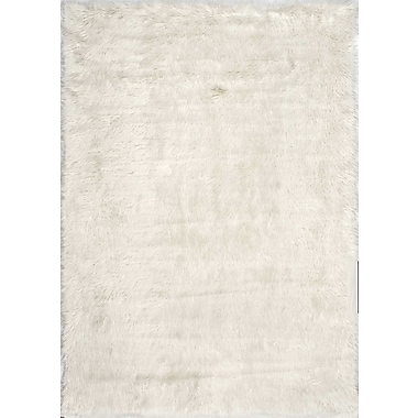 Bungalow Rose Empire Off-White Area Rug; Rectangle 5' x 7'