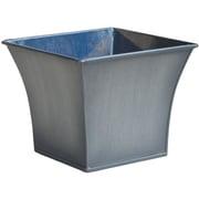Craftware Zinc Pot Planter; Grey Titan