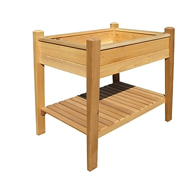 Buyers Choice Phat Tommy 3.5 ft x 2 ft Cedar Raised Garden