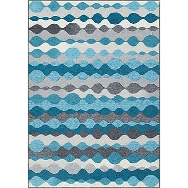 Dalyn Rug Co. Horizons Blue/Gray Area Rug; 4'11'' x 7'4''