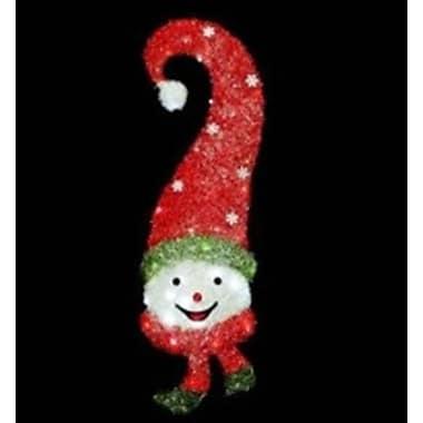 The Holiday Aisle Sisal Snowman Face Christmas Decoration
